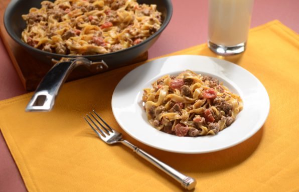 Cheeseburger-Noodle-Skillet-HR-596x384 Recipes